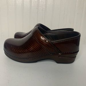 Dansko Patent Leather Clog